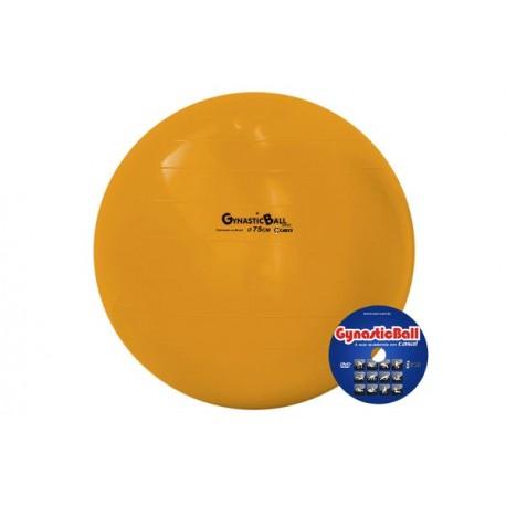 Bola suíça para exercícios 75 cm laranja Gynastic Ball