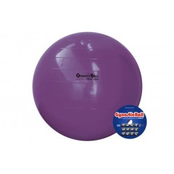 Bola suíça para exercícios 95 cm roxa Gynastic Ball