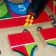 Labirinto magnético para trabalhar coordenação motora fina
