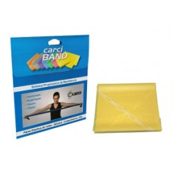 Carci Band - Faixa elástica para exercícios amarela fraca