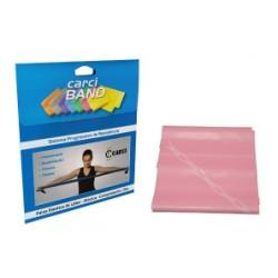 Carci Band - Faixa elástica para exercícios rosa leve