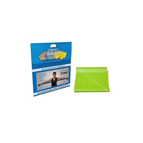 Carci Band - Faixa elástica para exercícios verde média para Pcd