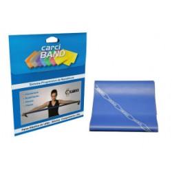 Carci Band - Faixa elástica para exercícios azul média forte
