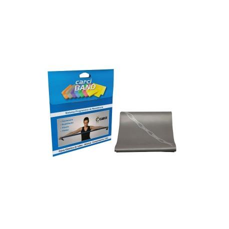 Carci Band - Faixa elástica para exercícios prata super forte para Pcd