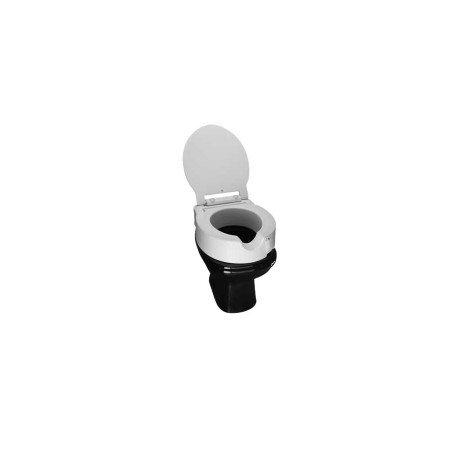 Elevador de assento sanitário articulado c/Tampa
