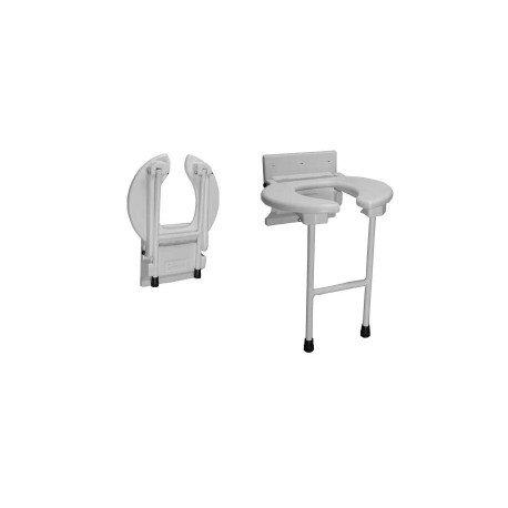 Assento retrátil para banho e higiene
